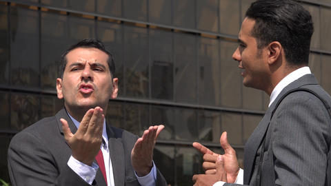 Man Misunderstands Deaf Man Using Sign Language Footage