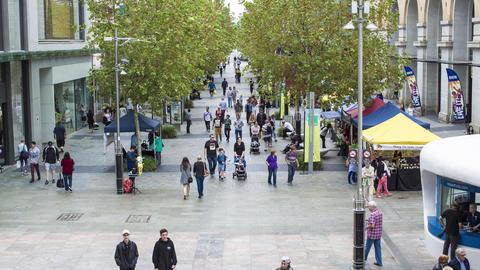 Australia, Perth, MurrayStreet, City Footage