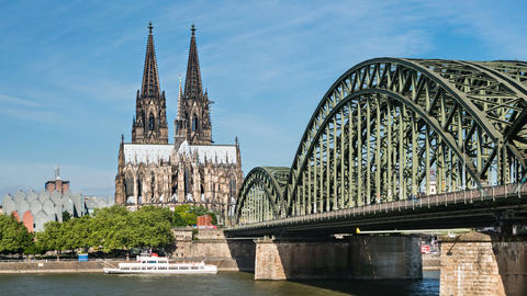 Cologne Cathedral Time Lapse, Germany, 4K Footage
