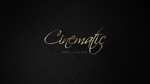 Cinematic Opener Motion Graphics Template