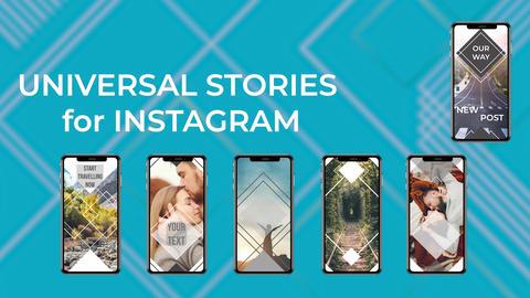 Universal Stories Edit Plantillas de Premiere Pro