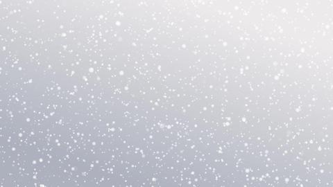 降雪をイメージした背景素材 CG動画