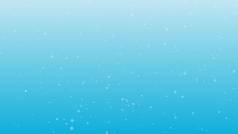 水中をイメージした背景素材 CG動画