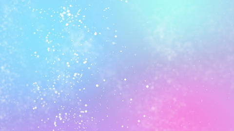 Particles pastel color business clean bright glitter bokeh dust abstract background loop Animation