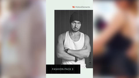 Instagram Fashion Pack 3 After Effectsテンプレート