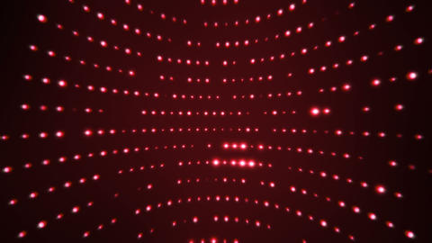 Flashing red leds rotating curved background loop Animation