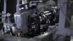 Professional camera on the set of the film. Filmmaking ビデオ
