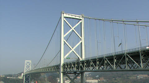 Kanmon Bridge Footage