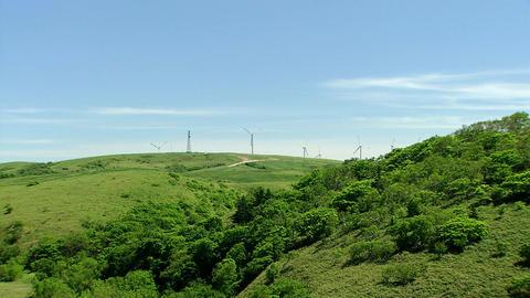 宗谷丘陵 風力発電所 Footage