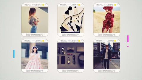 InstaFashionSlideshow After Effects Template