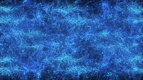 Blue Magic Abstraction Background Animation