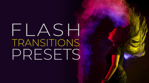 Flash Transitions Plantillas de Premiere Pro