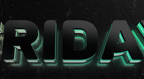 Text Animation With Black Friday Sale GIF