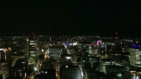 TimeLapseSapporo night 190912 Live Action
