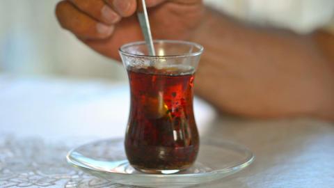 Turkish tea Footage