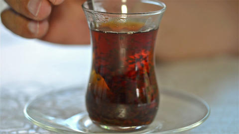 Turkish tea Footage