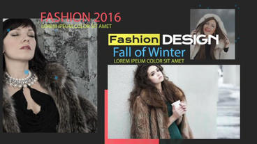 Fashion Slideshow After Effects Projekt
