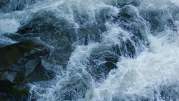 Rapid on the mountain river GIF