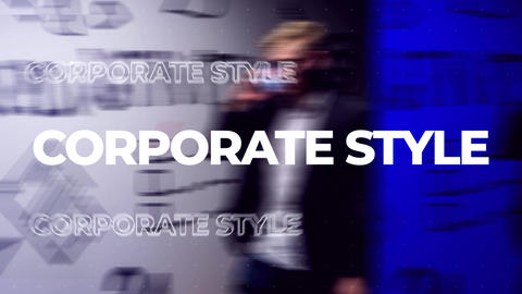Corporate Style Short Intro Premiere Pro Template