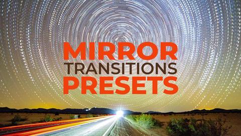Mirror Transitions Premiere Proテンプレート