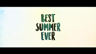 Uplifting Summer Slideshow After Effects Project