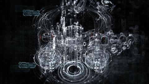 Robot High footage CG動画素材