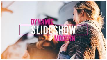 Dynamic Slides After Effectsテンプレート