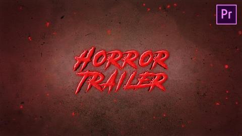 Horror Trailer Premiere Pro Template