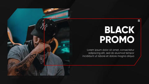 Corporate - Black Presentation After Effects Template