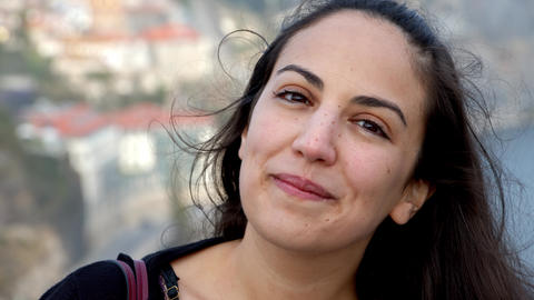 Portrait shot of a young Turkish woman Live Action