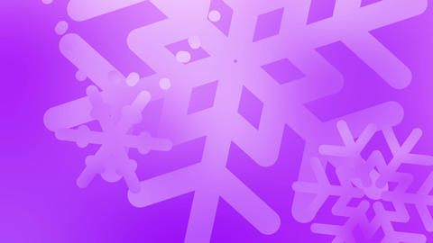 Holiday Snowflakes Animation