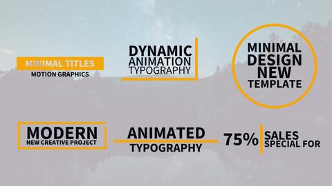 Modern Titles Plantillas de Motion Graphics