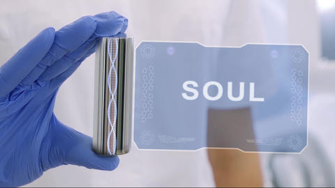 Hand in glove with hologram Soul Live Action