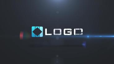 Dynamic Elegance Dark Business Logo Elements Build Light Animation Stinger After Effects Project