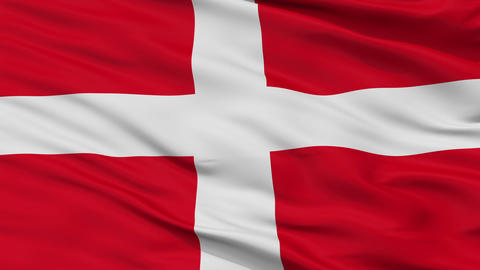 Sovereign Military Order of Malta Religious Close Up Waving Flag Animation