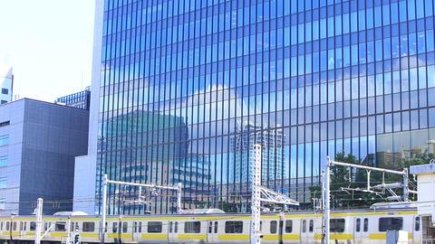 Bill and railway/東京、御茶ノ水駅付近。 Live Action