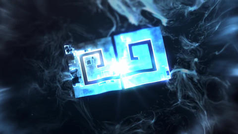 Cinematic Explosive Logo After Effects Template