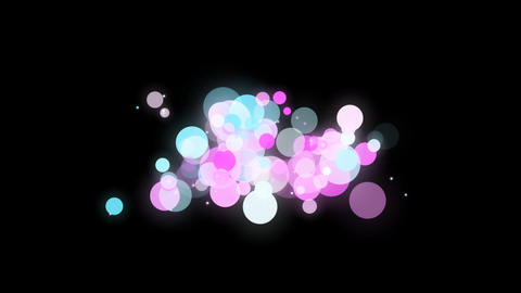 Particle motion 03 Footage