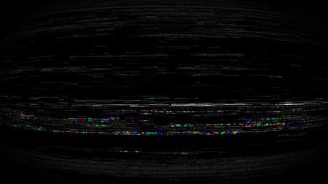 Mov164 broken tv noiz loop 02 CG動画