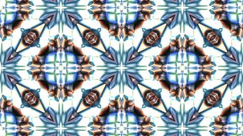 blue kaleidoscope Animation