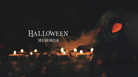 Halloween Memories After Effects Template