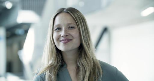Portrait of female executive, Live Action