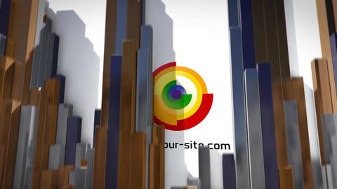 Cubes Logo After Effects Template