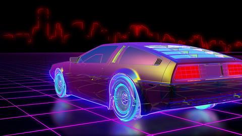 Retro 80s Animation