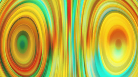Psychedelic CG Animated Background,Abstract Curved Shapes GIF