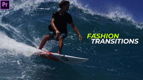 Fashion Transitions Presets Premiere Pro Effect Preset