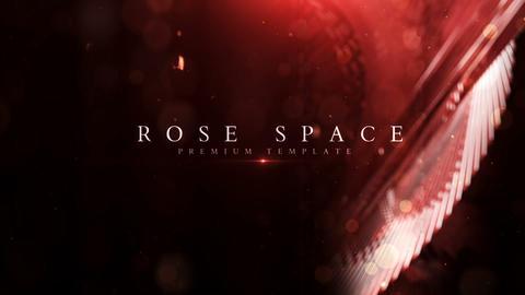 Rose Space After Effects Template