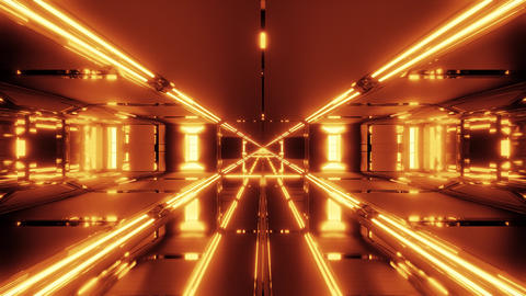 futuristic scifi hangar temple 3d illustration live wallpaper motion background Animation