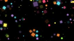 Mov174 particle square loop alpha 05 CG動画