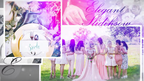 Wedding Memories Slideshow Premiere Pro Template